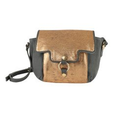 Craie Vidéo Leather + Canvas Reversible + Adjustable Bag-product