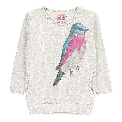 Munsterkids Sweatshirt mit Taschen Vogel Woods -listing