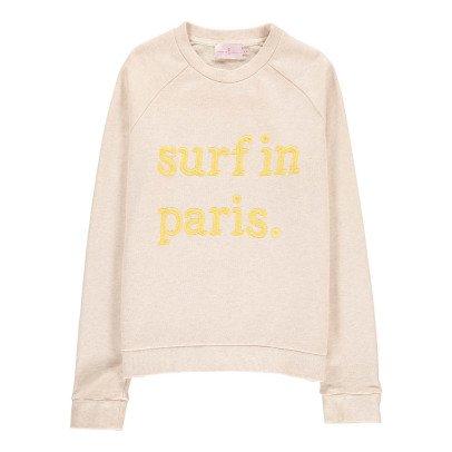 """Cuisse de Grenouille Suéter """"Surf In Paris"""" Carlita-listing"""