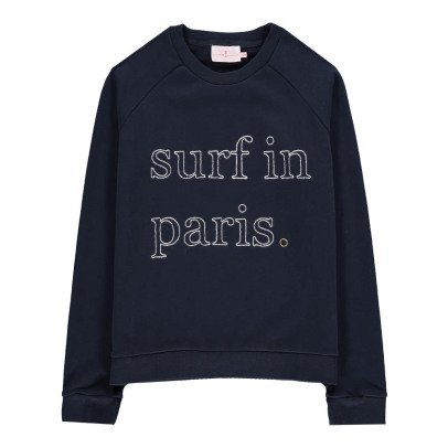 "Cuisse de Grenouille Carlita ""Surf In Paris"" Sweatshirt-listing"