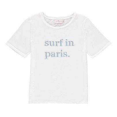 """Cuisse de Grenouille T-Shirt """"Surf In Paris"""" -listing"""