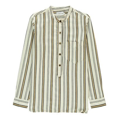Laurence Bras Corner Striped Blouse-listing