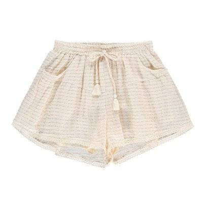 Louise Misha Alambra Lurex Striped Shorts - Women's Collection-listing