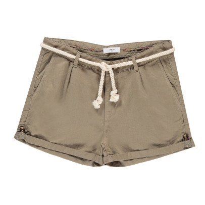 Labdip Kate Cotton and Linen Shorts-listing