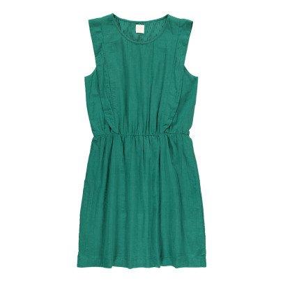 Des petits hauts Toupsy Dobby Spot Crepe Dress-listing
