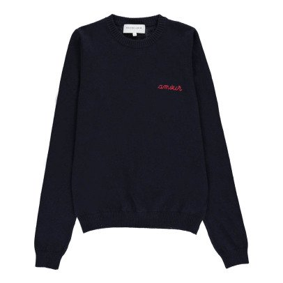 Maison Labiche Amour Embroidered Jumper-listing