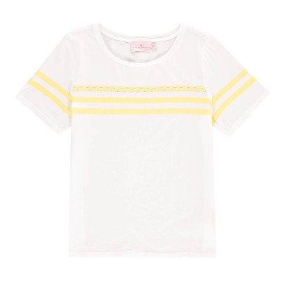 Cuisse de Grenouille T-Shirt Rayures Castorette-listing