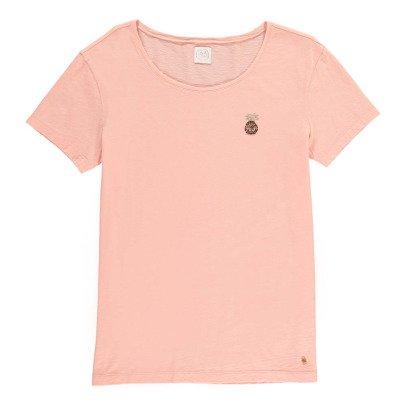 Des petits hauts Ivola Sequin Pineapple T-Shirt-listing
