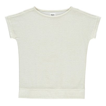 Blune Sweat Manches Courtes Rayé Lurex Smart-product