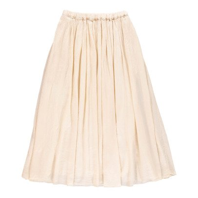 Pomandère Cotton and Silk Maxi Skirt-listing