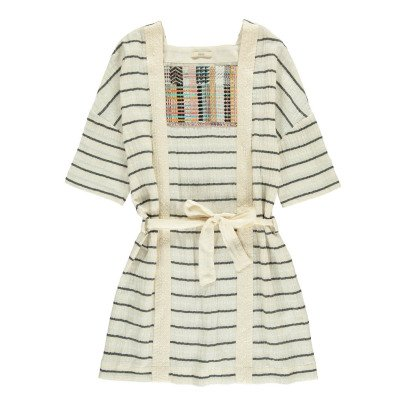 Sessun Azucena Jacquard Striped Dress-product