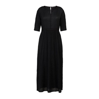 Pomandère Silk and Cotton Maxi Dress-listing