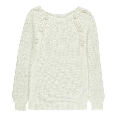 Sessun Samha Button Up Ribbed Jumper-listing