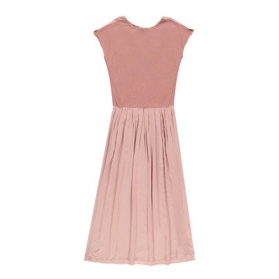 Pomandère Kleid aus Baumwolle und Leinen -listing