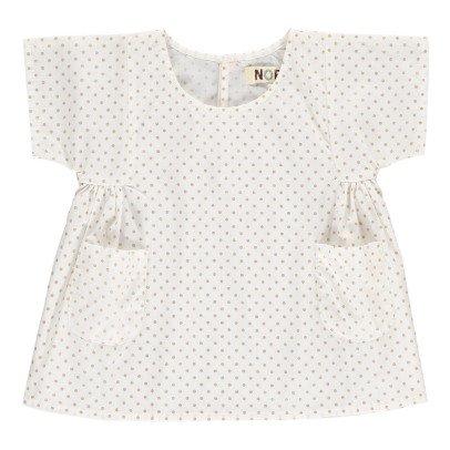 Noro Kleid Tupfen Lurex Swan -listing
