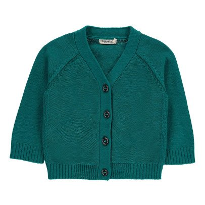 Imps & Elfs Cotton V-Neck Cardigan-listing