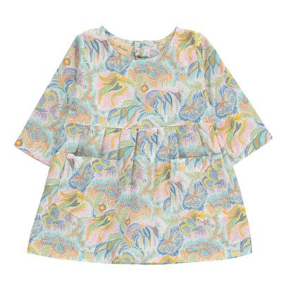 Lab - La Petite Collection Robe Liberty Imprimé Cachemire-listing
