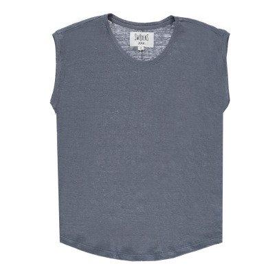 Swildens T-shirt Lin Ligne Dorée Qevily-listing