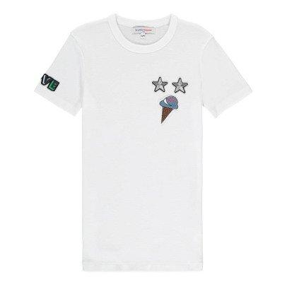 La Petite Française Camiseta Parche-listing