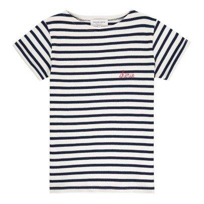 Maison Labiche Camiseta Marinera Bordada Chérie-listing