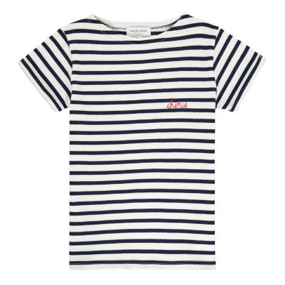 Maison Labiche T-Shirt Chérie Stickerei -listing