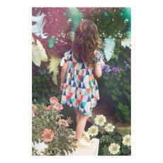 Lulaland Vestido Algodón Biológico Triángulos Rebecca-listing