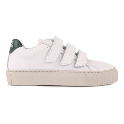 National Standard Edition 44 Green Velcro Trainers-listing