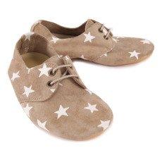 Anniel Star Leather Derbies-listing