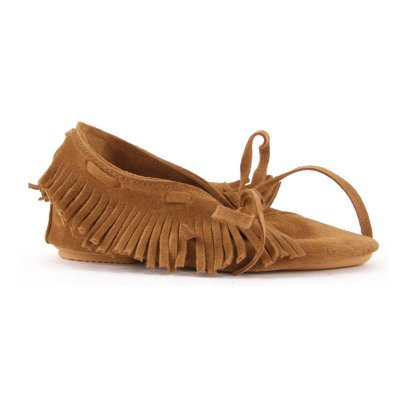 Anniel Fringe Ankle Boots-listing
