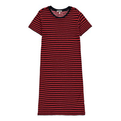 Les coyotes de Paris Elise Striped Linen Dress-listing