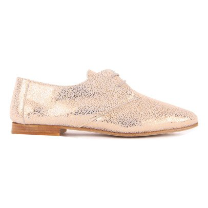 Craie Jane Iridescent Leather Derbies-listing