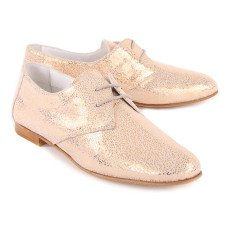 Craie Derbies Cuero Irisado Jane-listing