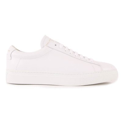 Zespà ZSP4 HGH Lace Up Leather Trainers-listing