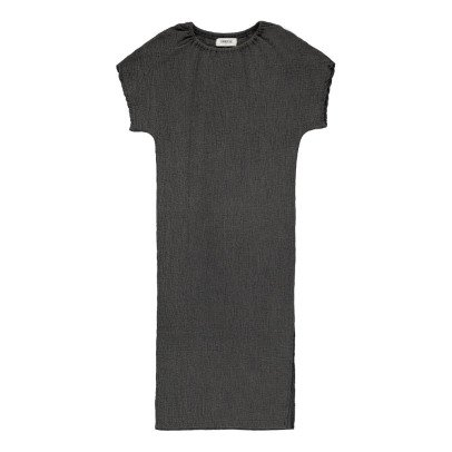 Tambere Vestido Texturizado y Dividido-listing