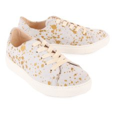 Craie Feather Past Speckled Lace-Up Low Top Trainers-product