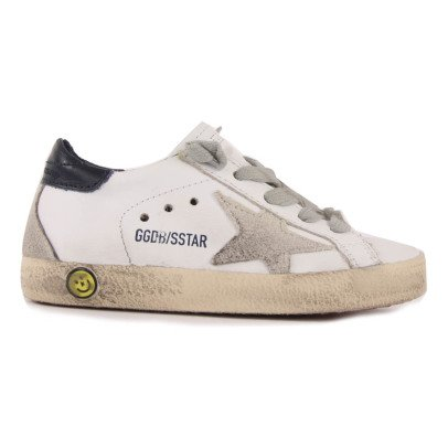 Golden Goose Sneakers Lacci Pelle dietro-listing