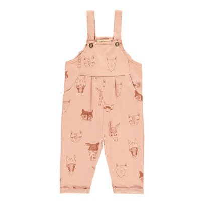Soft Gallery Willow Animal Knit Dungarees-listing