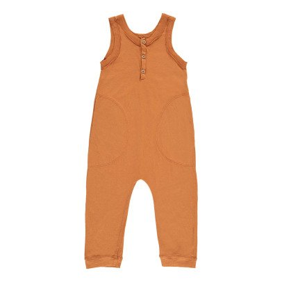 Nico Nico Maui Organic Cotton Sleeveless Jumpsuit-listing