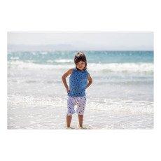 Nui Eva Triangle Organic Cotton Harem Shorts-listing