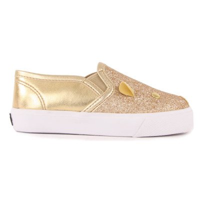 Little Marc Jacobs Glitter Mouse Slip-Ons-product