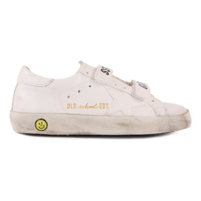 Golden Goose Superstar Velcro Leather Trainers-listing