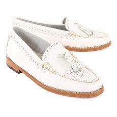 Bass Mocasines Cuero Estelle Brogue-listing