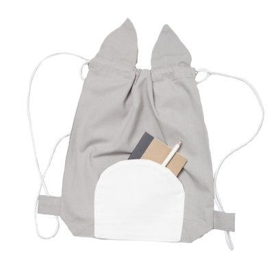 Fabelab Organic Cotton Cat Backpack - 32x28cm-listing