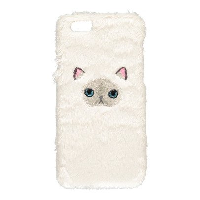 Keora Keora Cover Iphone 6 Fluffy Himarayan Face Bianco-listing