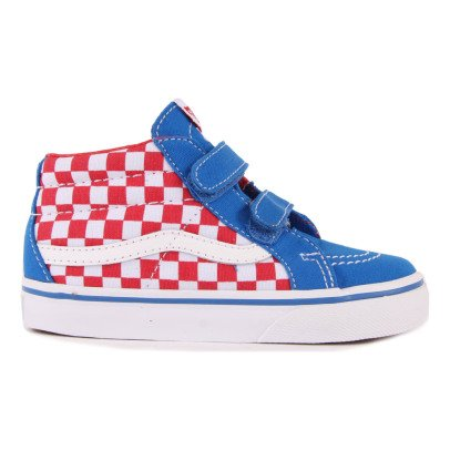 Vans Sneakers Scratch Scacchiera SK8 Mid Reissue-listing