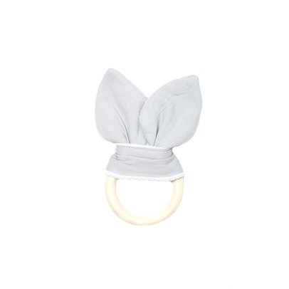 Fabelab Organic Cotton Cat Teething Ring - 7x15cm-product