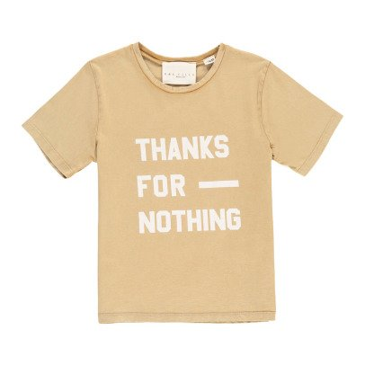 "UNE FILLE today I am T-Shirt ""Thanks For Nothing""-listing"