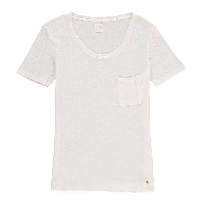 Des petits hauts Francine Embellished Textured T-Shirt-product