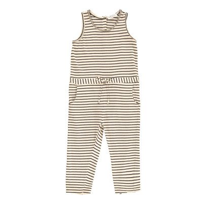 Babe & Tess Striped Jumpsuit-listing