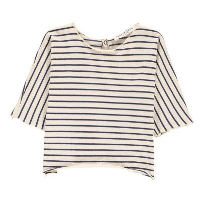 Babe & Tess Striped T-Shirt-listing